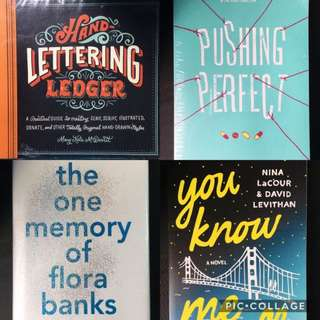 4 for ₱2000 NEW BOOKS