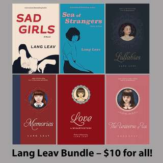 Lang Leav Complete Bundle of 6 (EBOOK)