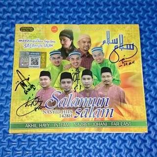 🆒 VA - Salamun Salam: Nasyid Hits 1428H [2008] Audio CD with Signature