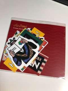 EXO CBX - Fanbook sticker set