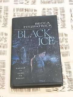 (Free shipping) Black Ice by Becca Fitzpatrick