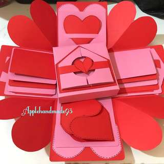 Customised Gift box Photos explosion box