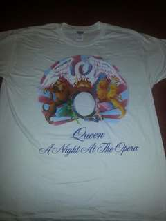 Band t shirt QUEEN Freddie Mercury