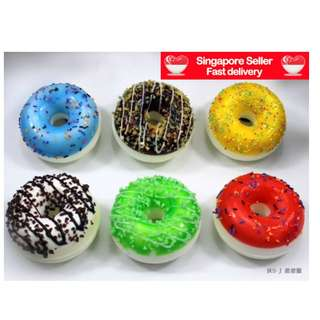 Scented Donuts Squishy Key Chains Cute & Fun To Keep As Souvenirs / Good Idea As Gifts