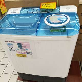 Mesin cuci denpoo dw8282g/828sg bisa dicicil tanpa kartu kredit