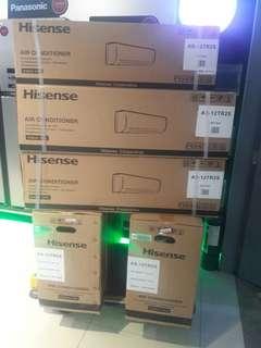 Hisense aircon free installation