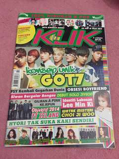 Kpop magazine