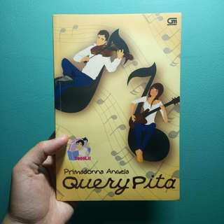 "Novel Teenlit ""Query Pita"" karya Primadonna Angela"