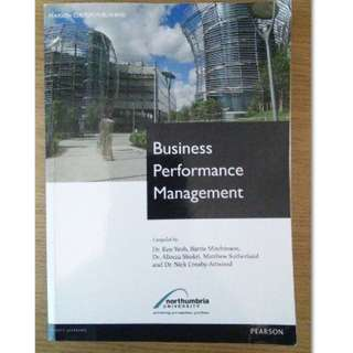 Business Performance Management - Northumbria University - BK2017