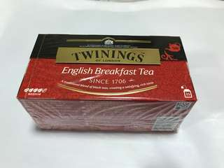 Twinnings English breakfast tea