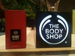 THE BODY SHOP RED MUSK EU DE TOILETTE (EDT)