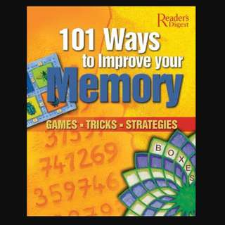 101 Ways to Improve Your Memory: Games, Tricks, Strategies - BK2018