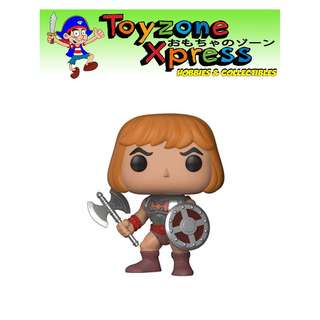 Masters of the Universe Battle Armor He-Man with Damaged Armor Pop! Vinyl Figure (#562)