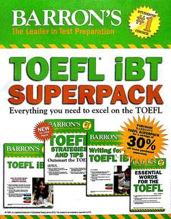TOEFL SUPERPACK BY BARRONS