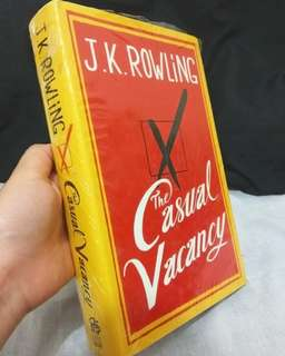 The Casual Vacancy by JK Rowling (Hardcover)