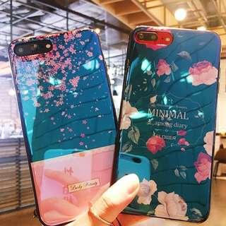"""""""OW116  Sakura Glass Sequel Iphone x iphone 8 plus casing"""
