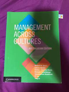 Management Across Culture (university)