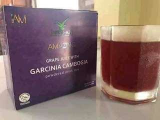 Buy 3 get 1 free!!! Slimming Grape Juice Garcinia Cambogia