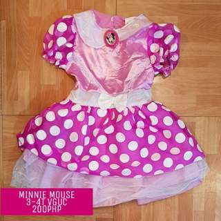 Minnie Mouse Costume 3-4T