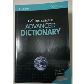 Collins Cobuild Advanced Dictionary with CD-ROM
