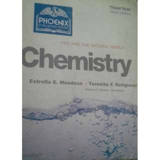 You and the Natural World Chemistry