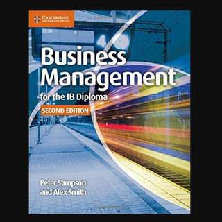 Business Management for the IB Diploma Coursebook - BK2019