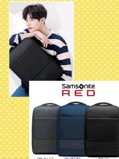 "Samsonite red 15.6""商旅肩包"