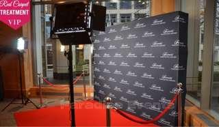 Red Carpet VIP Backdrop