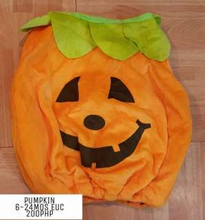 Pumpkin Costume 6-24MOS