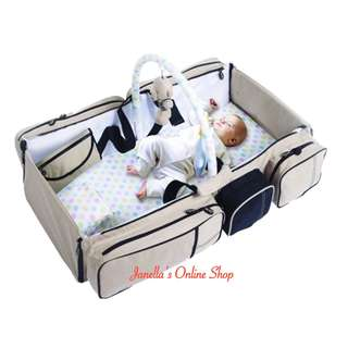 The Magical Baby Bag and Travel Bed