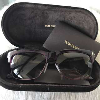 Tom Ford Dark Purple Sunglasses