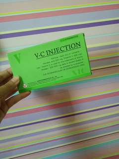 Vc injection