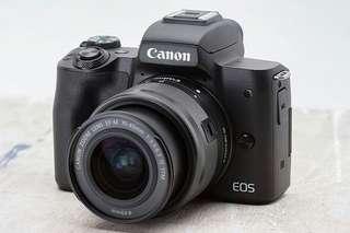 Camera Canon Eos M50 + Tas Memory Bisa Cicilan