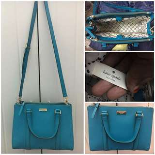 Kate spade limited blue
