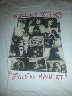 Band t shirt. Rolling Stones. Exile. Buy more pay less