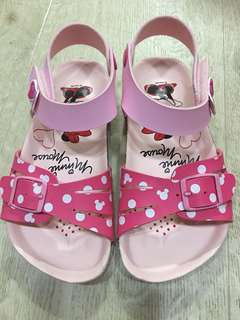 NEW Minnie Mouse pink colour Girl's Sandal