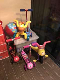 Like new paw patrol scooter little tikes scooter