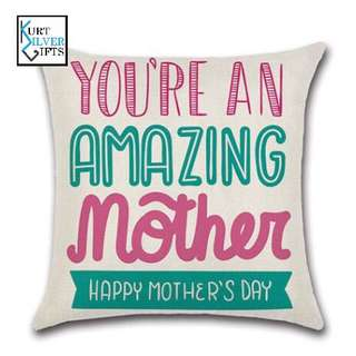 Mother's Day gift pillow case
