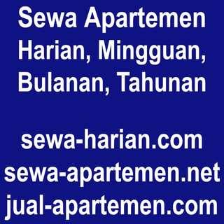 Sewa Apartemen Harian Bulanan Tahunan / Rumah Disewakan / Villa for Rent