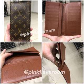 LV long wallet ORI