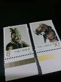 中國人民郵政 秦始皇陵 兵馬俑