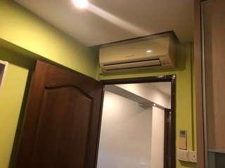let go 3+1 Mitsubishi invertor Aircon air conditioner