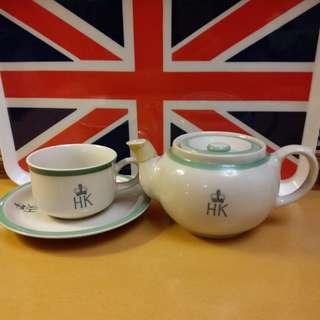 港英政府 殖民地時期~皇冠頭茶具