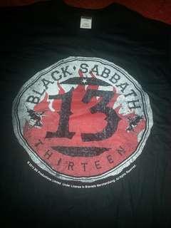 Band t shirt. Black Sabbath. Thirteen. 13. Buy more pay less