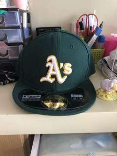 MLB As 原裝棒球帽