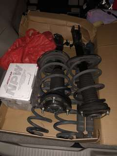 Stock suspension for estima 07