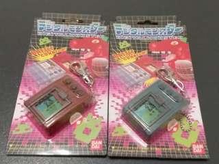 最後清貨全新未開 正版 原裝日版 數碼暴龍 Digimon 超龍遊戲機 第一代 2部 收藏品