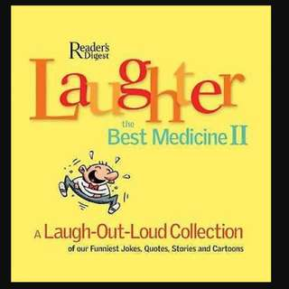 Reader Digest : Laughter the Best Medicine  BK2021