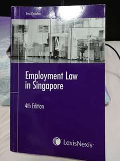 Employment Law In Singapore, 4th Edition by Ravi Chandran