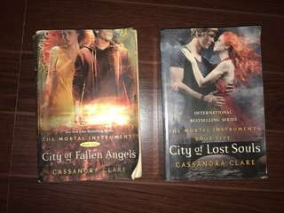 The Mortal Instruments by Cassandra Claire /// City of Fallen Angels / Lost Souls